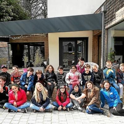 Classe découverte des élèves de CM de l''école de Locquirec
