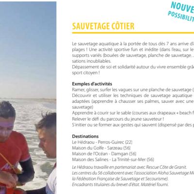 Sortie groupe Sauvetage côtier
