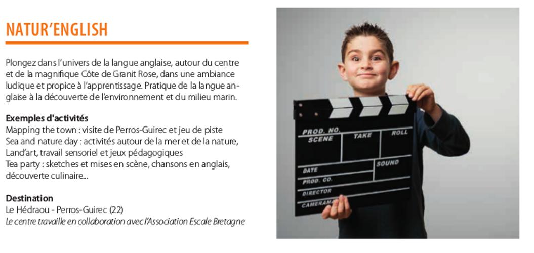 Ateliers Natur''English à Perros-Guirec 0
