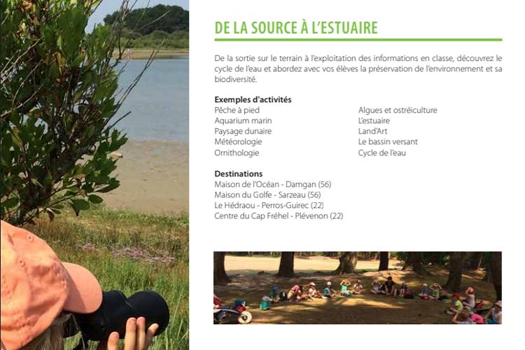 Ateliers scolaires à Perros-Guirec et Fréhel : De la source à l''estuaire 0